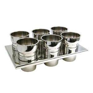 Eastern Tabletop 3106 Sauce Station with Condiment Inset