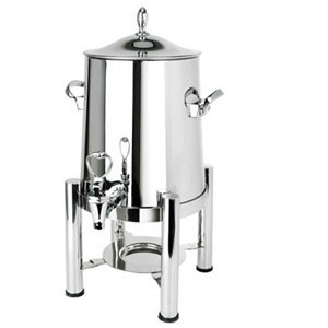 Eastern Tabletop 3123 Pillard Collection Stainless Steel Coffee Urn 3 Gallon