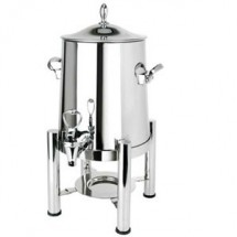 Eastern Tabletop 3125 Pillard Collection Stainless Steel Coffee Urn 5 Gallon