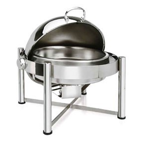 Eastern Tabletop 3128  Pillard Collection  Round Chafer 8 Qt.