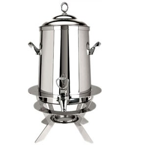 Eastern Tabletop 3205-L Luminous Hotel Grade Stainless Steel Coffee Urn 5 Gallon