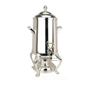 Eastern Tabletop 3205QA-SS Queen Anne Hotel Grade Stainless Steel Coffee Urn 5 Gallon