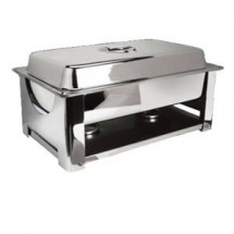 Eastern Tabletop 32201 Collapsible Rectangular Lift-Off Chafer 8 Qt.