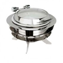 Eastern Tabletop 32308-L Luminous Round Chafer 6 Qt.