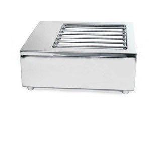 Eastern Tabletop 3265GP Stainless Steel Butane Stove Cover Up