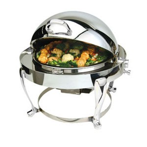 Eastern Tabletop 3615FS-SS Freedom Round Chafer 4 Qt.