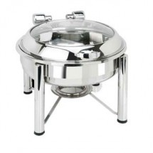 Eastern Tabletop 3928GS Pillard Round Induction Chafer 6 Qt.