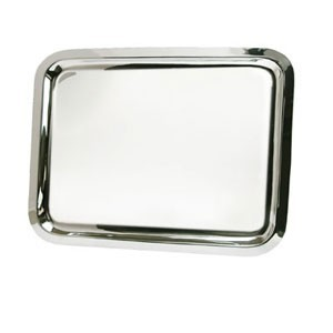 Eastern Tabletop 4490 Silver Grandeur Rectangular Tray
