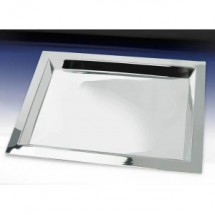 Eastern Tabletop 4497 Silver Plated Rectanguler Brooklyn Tray