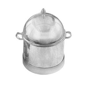 Eastern Tabletop 6001 Silver Single 3 Gallon Insulated Ice Cream Unit