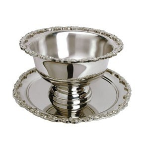 Eastern Tabletop 6033 Silver 3 Gallon Punch Bowl