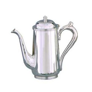 Eastern Tabletop 6270 Silver Classic  Coffee Pot  64 oz.