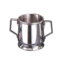 Eastern Tabletop 6321L Silver 10 oz. Sugar Bowl
