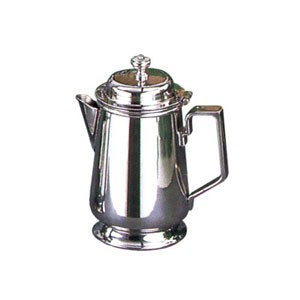 Eastern Tabletop 6322L Silver  10 oz. Covered Creamer