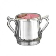 Eastern Tabletop 6371 Silver Classic 10 oz. Sugar Bowl