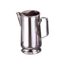 Eastern Tabletop 6420L Silver Legacy 64 oz. Water Pitcher with Ice Guard