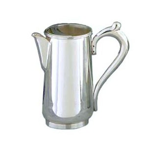 Eastern Tabletop 6470 Silver Classic 64 oz. Water Pitcher