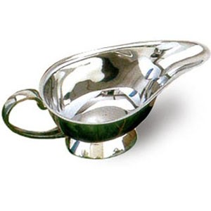 Eastern Tabletop 6681 Silver 8 oz. Gravy Boat