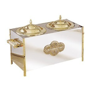 Eastern Tabletop 7002 Stainless Steel Insulated Ice Cream Unit