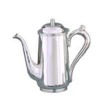 Eastern Tabletop 7270 Stainless Steel Classic Coffee Pot 64 oz.