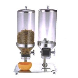 Eastern Tabletop 7822 Stainless Steel Cereal Dispenser