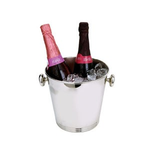 Eastern Tabletop 7960 Stainless Steel Wine Bucket with Knob Handles