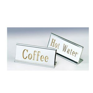 Eastern Tabletop 9900 Stainless Steel Coffee ID Stands