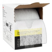 """Easy Trap Duster, 5"""" x 30 ft, White, 1 60 Sheet Roll/Box"""