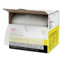 """Easy Trap Duster, 8"""" x 30 ft, White, 1 60 Sheet Roll/Box"""