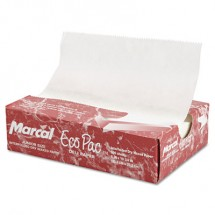 """Eco-Pac Natural Interfolded Dry Wax Paper, 8"""" x 10.75"""", 6000/Carton"""
