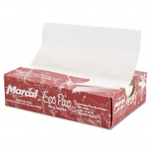 """Marcal Eco-Pac Natural Interfolded Dry Wax Paper, 8"""" x 10-3/4"""", 6000/Carton"""