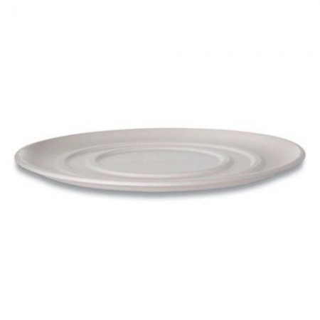 """Eco-Products WorldView Sugarcane Pizza Trays 14"""", 50 Trays/Carton"""
