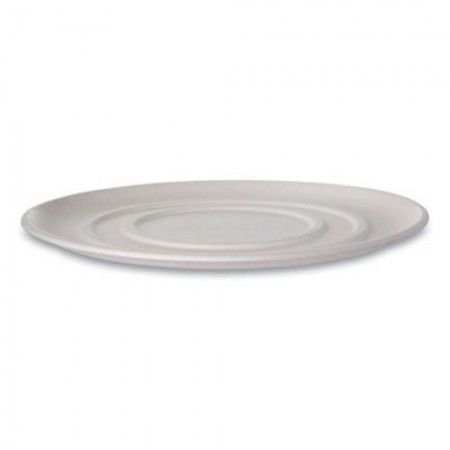 "Eco-Products WorldView Sugarcane Pizza Trays 16"", 50 Trays"