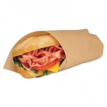 EcoCraft Grease-Resistant Paper Wraps and Liners, Natural, 14 x 14,4000/Carton