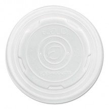 Eco-Products Food Container Lids, Fits 8   oz.. Soup Containers, 1000/Carton