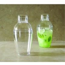 Emi Yoshi EMI-CS7 Neon Lights Plastic Cocktail Shaker 7 oz. - 24 pcs