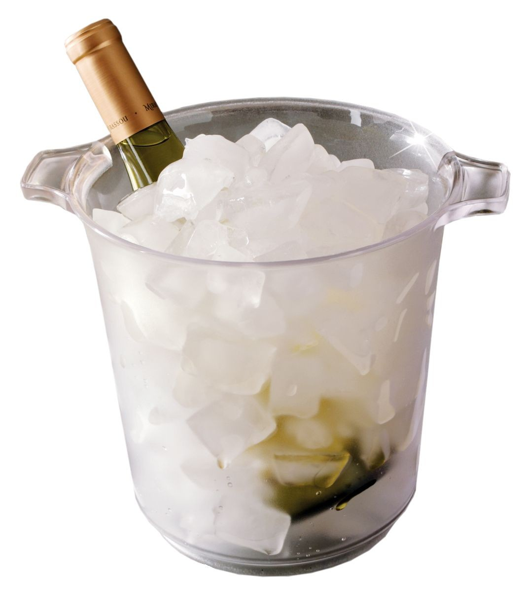 Emi Yoshi EMI-IB1 Clear Plastic Gallon Ice Bucket - 1/2 doz