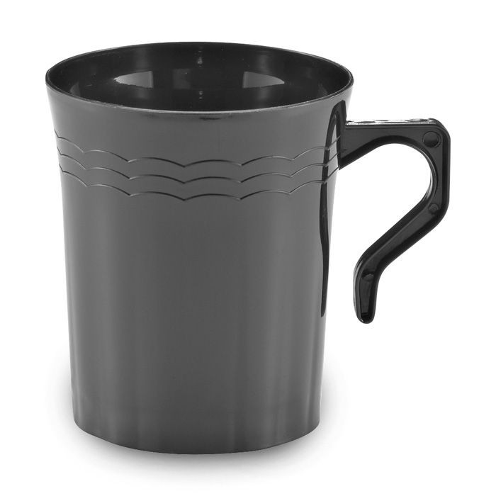 Emi Yoshi EMI-REM8 Resposable Plastic Coffee Mug 8 oz. - 16 doz