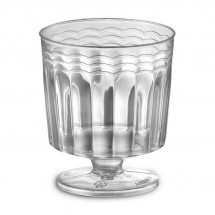 Emi Yoshi EMI-REWG2 Clear Plastic Wine Glass 2 oz. - 20 doz