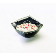 Emi Yoshi EMI-SB8LP PET Lid for Square 8 oz. Serving Bowl - 100 pcs