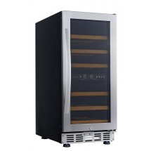 Eurodib USF33D Double Temperature Compact Series Wine Cabinet, 26 Bottle Capacity