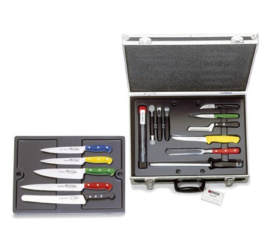 F. Dick 8116600 17-Piece Chef's Knife Set, HACCP