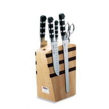 FDick 8197000 Wooden Knife Block Set