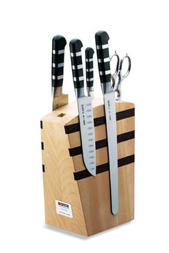 F. Dick 8197000 1905 Series 5-Piece Magnetic Knife Block Set