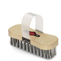 "FDick 9001200 8"" Block Brush with Steel Bristles"