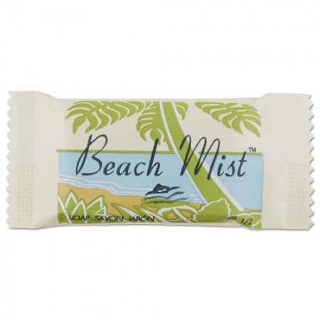 Face and Body Soap, Foil Wrapped, Beach Mist Fragrance, 0.75 oz. Bar 1000/Carton