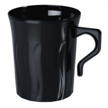 Fineline Settings 208 8 oz. Flairware Plastic Coffee Mug - 24 doz