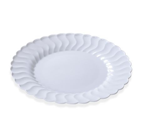 "Fineline Settings 209 Flairware Plastic Plate 9"" - 15 doz"