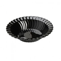 Fineline Settings 212 12 oz. Flairware Plastic Bowl - 15 doz