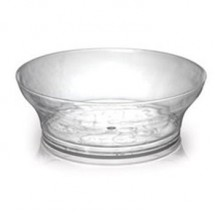 Fineline Settings 311 Savvi Serve 10 oz. Clear Plastic Bowl - 20 doz